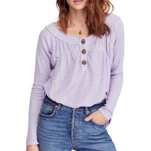 Free people Must Have Henley Top